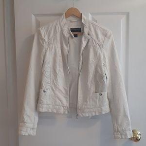 NWOT Bernardo Faux Leather Moto Jacket